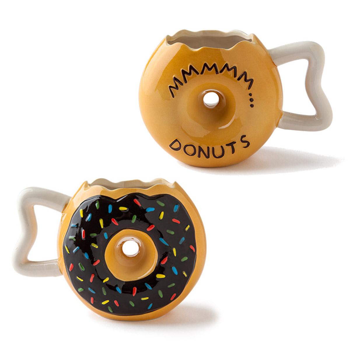 Taza original con forma de Donut