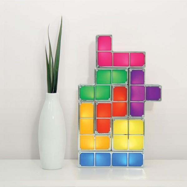 Lámpara de Mesa Tetris