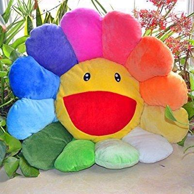 Cojín Girasol Multicolor