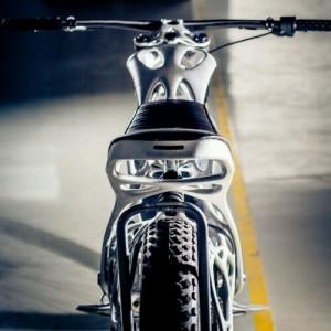 Moto electrica impresa en 3D