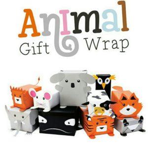 Papel de regalo animal