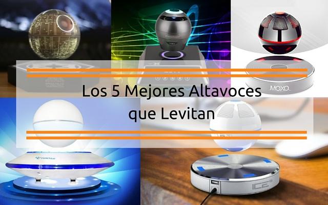 Los 5 mejores altavocesque levitan