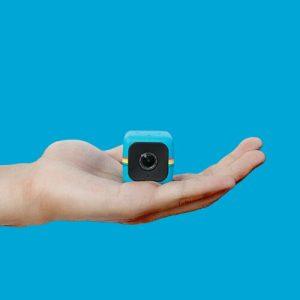Mini Videocámara con Forma de Cubo