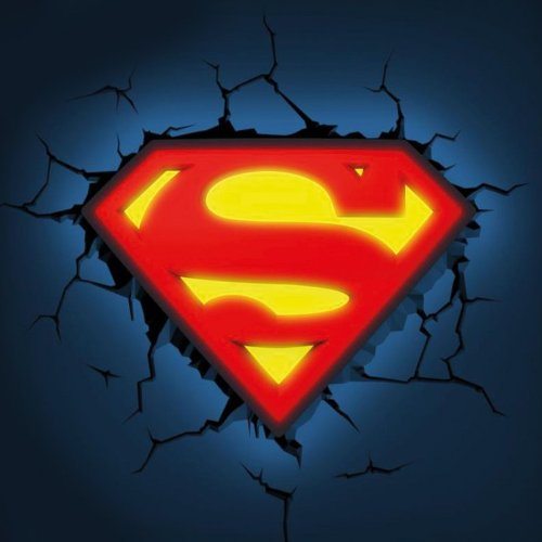 Lámpara Superman