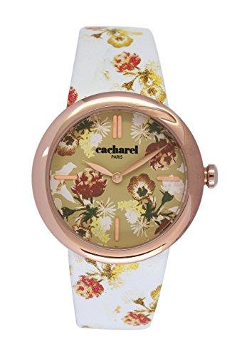Reloj con Diseño Floral