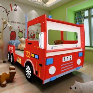 Cama camion de bomberos