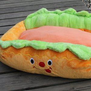 Cama para Perro Hot Dog