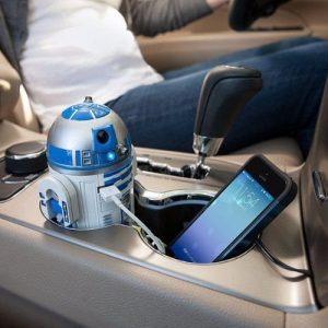 Cargador para coche R2-D2