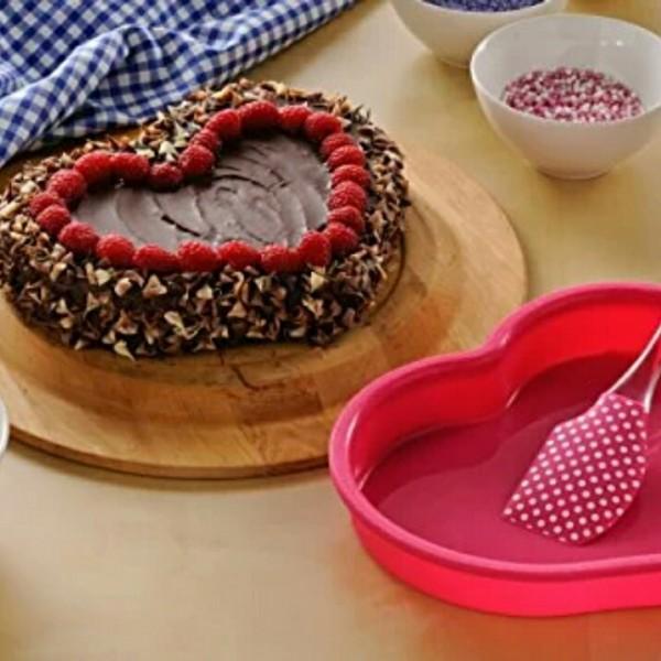 Molde Corazón para Tartas
