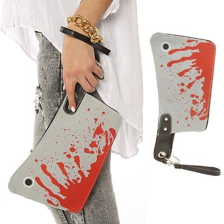 Cartera de mano cuchillo de carnicero