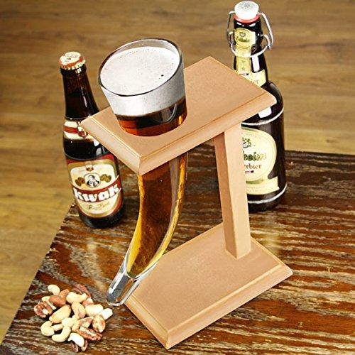Cuerno de Vidrio para Cerveza