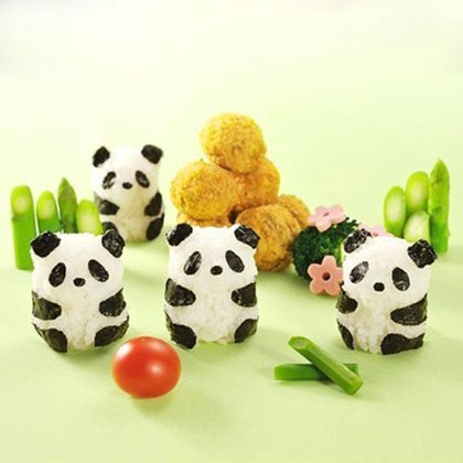 Molde de Arroz Panda
