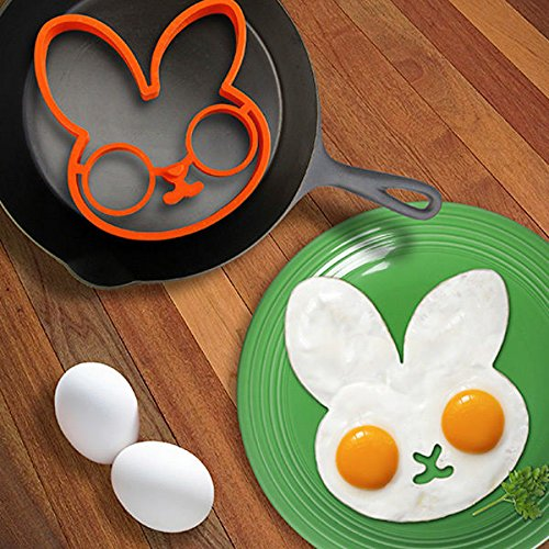 Molde conejo para huevo frito