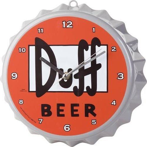 Reloj de Pared Cerveza Duff