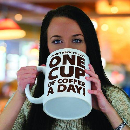 Taza de cafe gigante