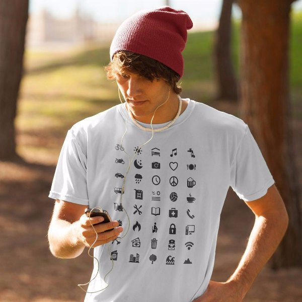 Camiseta iconos para Viajes