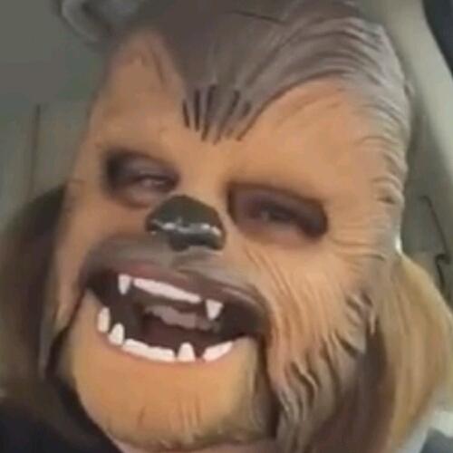 Máscara Electrónica Chewbacca de Star Wars