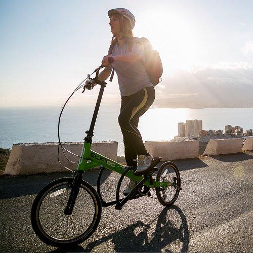 Bicicleta Elíptica de Exterior