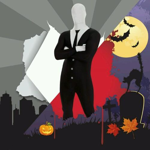 Disfraz para Halloween de Slenderman