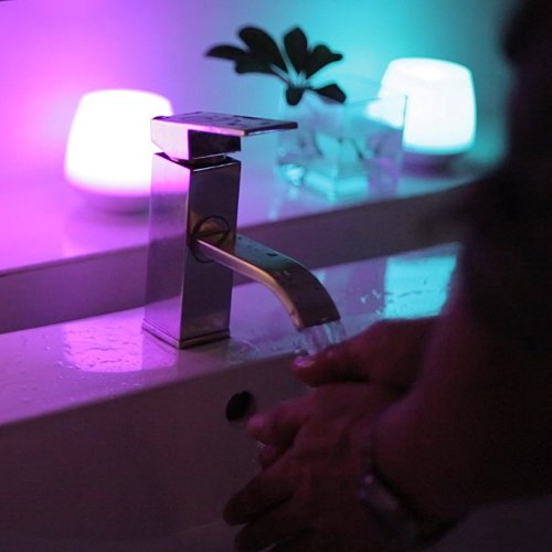 Vela Led controlada por Bluetooth