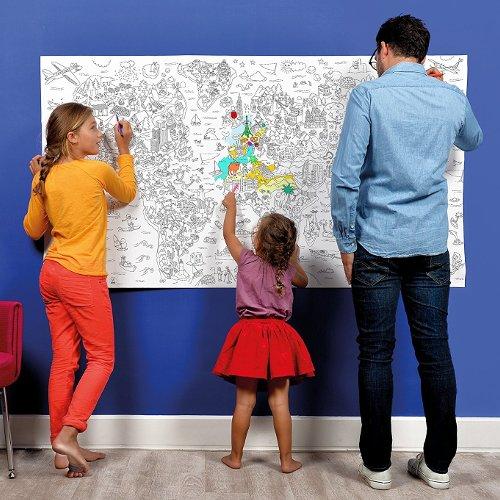 Atlas Gigante para Colorear