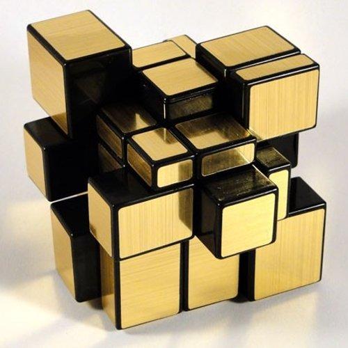 Cubo de Rubik Dorado