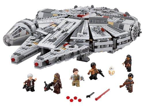 Halcon Milenario star Wars de Lego