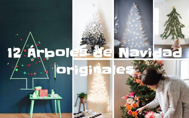 12 árboles de Navidad originales