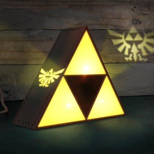 Lámpara Tri-Force de Leyenda de Zelda