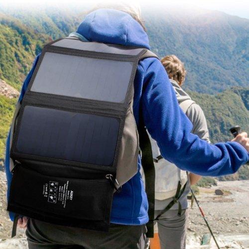 Cargador de Batería Solar Portátil