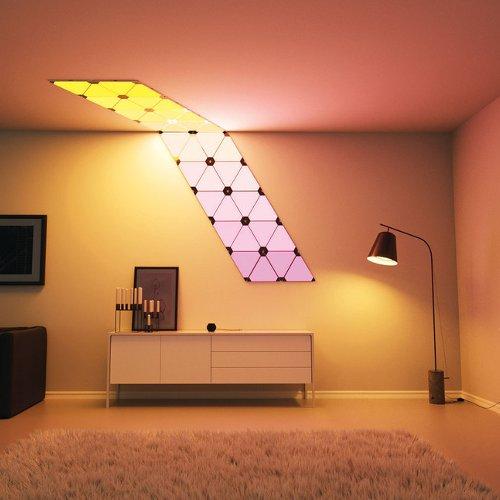 Paneles Modulares de Iluminación Inteligente